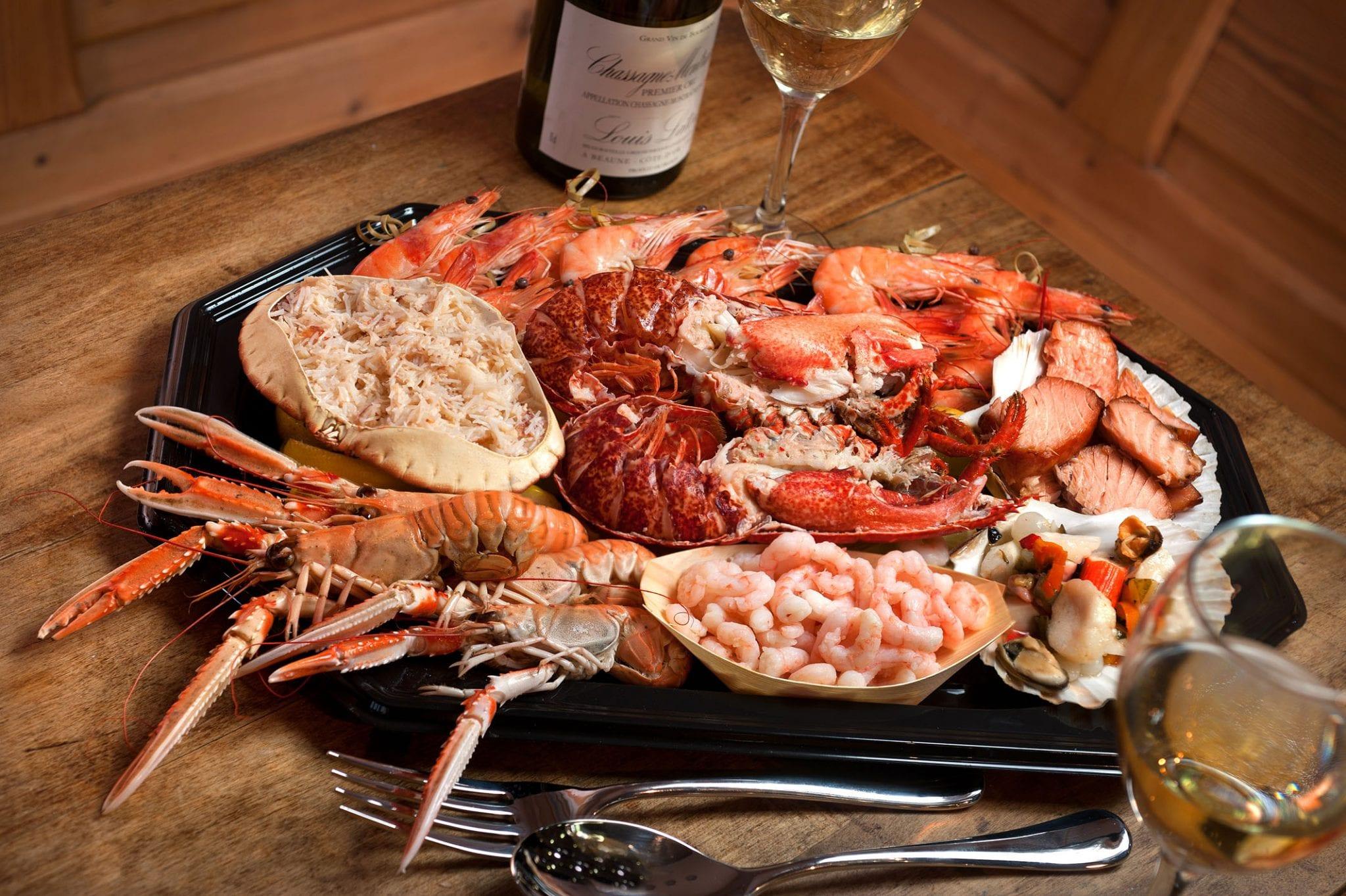 Lobster Platter | Latimers Seafood Deli