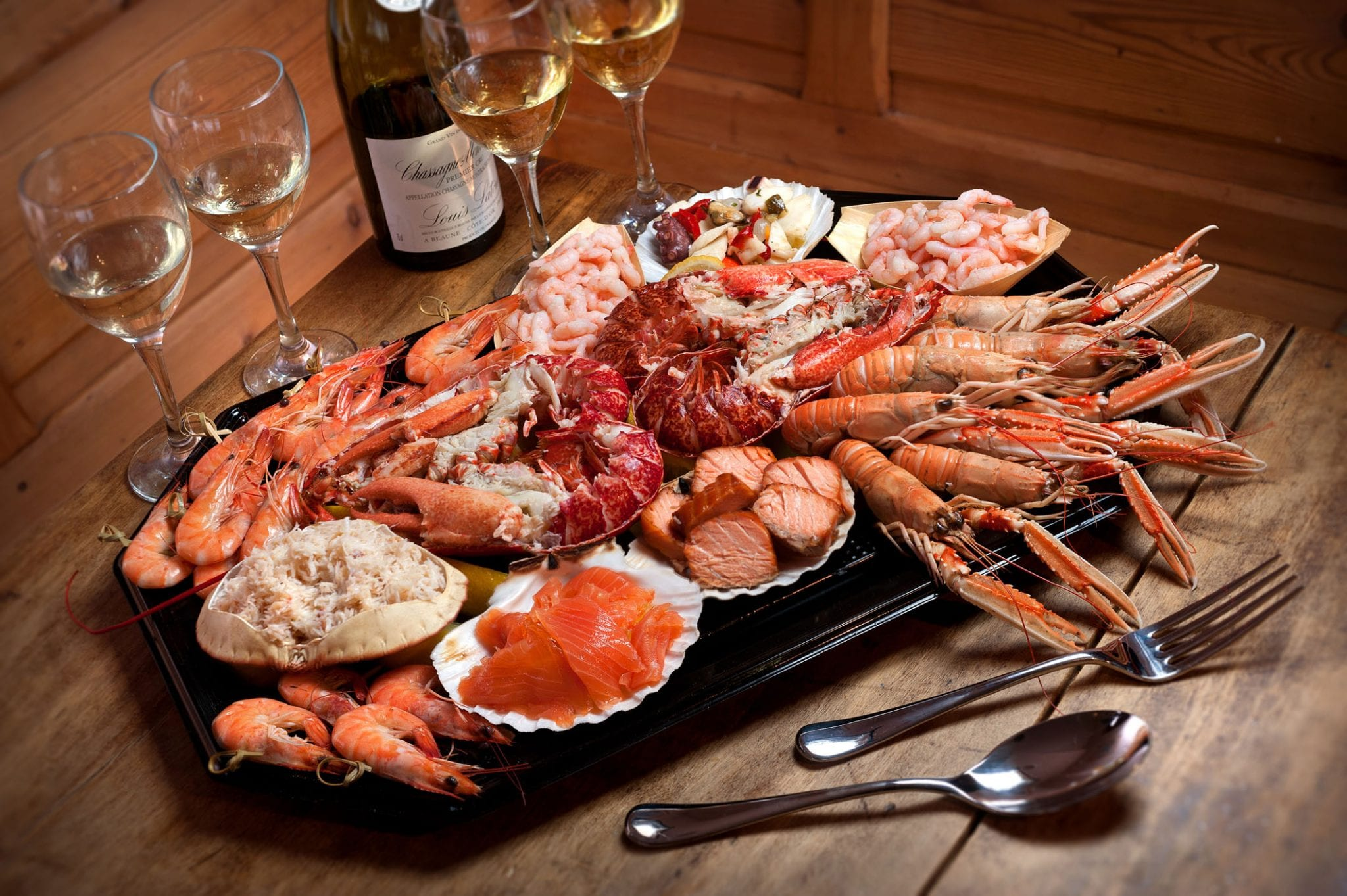 Luxury Lobster Platter...